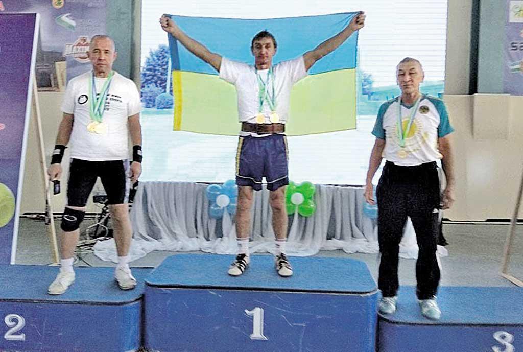 58-річний гирьовик із Гнівані став триразовим чемпіоном світу