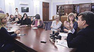 1112 днів на посаді: голова обласної ради відповів на запитання вінницьких журналістів