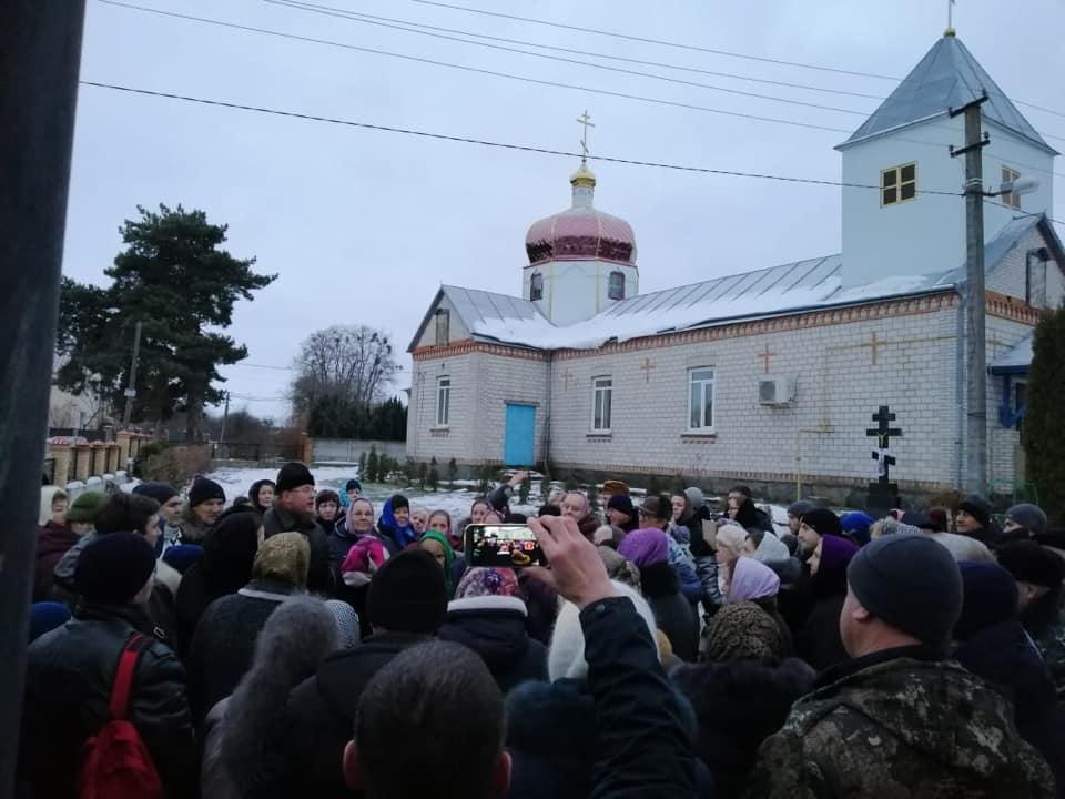 Друга промосковська атака на помісний храм у Стрижавці провалилась!