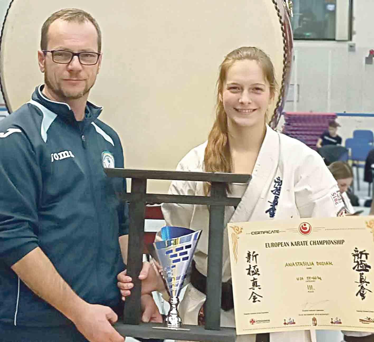 Студентка з Ладижина – бронзова призерка чемпіонату Європи